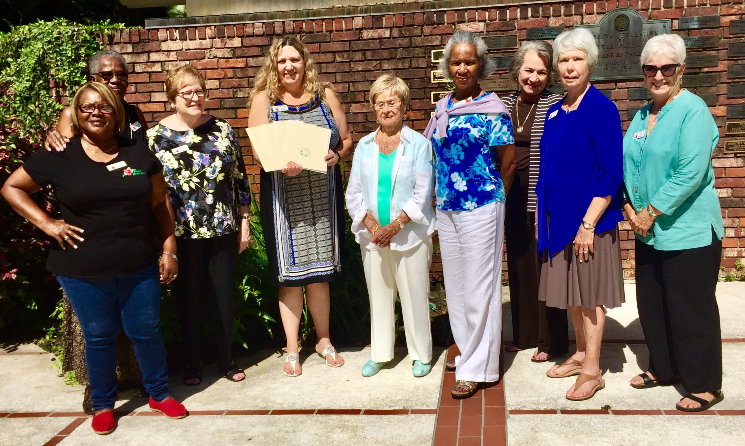 Florida Federation Of Garden Clubs Awards Garden Ftempo